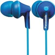 松下 RP-HJE125GK-A 缤纷入耳式耳机 蓝色 佩戴舒适 隔绝噪音 音质清晰