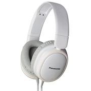 松下 RP-HX250ME-W 头戴式耳机 白色 手机 电脑耳罩式耳机 带线控麦克风