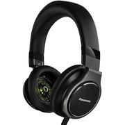 松下 RP-HD10GK-K 头戴式HIFI耳机 黑色 高解析度音频耳机 重低音浑厚 音效强劲