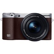 三星  NX500 4K摄像 微型单电套机(18-55mm 内置16G)棕色 (NX经典高端款)