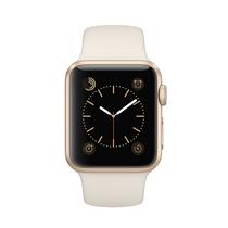 苹果 Watch Sport 智能手表(38mm/金色铝金属表壳/古董白色运动型表带)产品图片主图