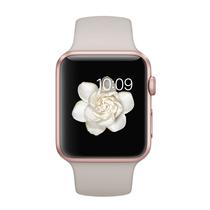 苹果  Watch Sport 智能手表(42mm/玫瑰金色铝金属表壳/岩石色运动型表带)产品图片主图