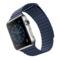 苹果 Watch 智能手表(42mm/不锈钢表壳/午夜蓝色皮制回环形表带/中号)产品图片3