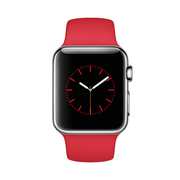 苹果 Watch 智能手表(38mm/不锈钢表壳/PRODUCT RED运动型表带)