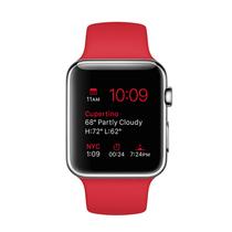 苹果 Watch 智能手表(42mm/不锈钢表壳/PRODUCT RED运动型表带)产品图片主图