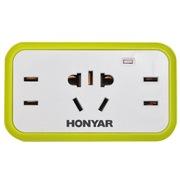鸿雁 TH13/3G1T2 一转三插座/转换插头/电源转换器