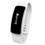MATE T2 智能运动时尚手环 计步 定位追踪 健康管理手表 白色