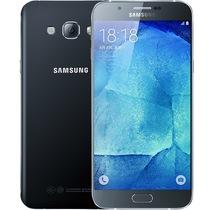 三星 Galaxy A8(A8000)32G版 精灵黑 移动联通电信4G手机 双卡双待产品图片主图