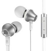 REMAX 610D 入耳式纯音耳机 银色