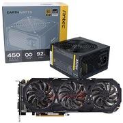 安钛克 额定450W EAG450 金牌电源+技嘉(GIGABYTE) GV-N960G1 GAMING-4GD GTX960 显卡