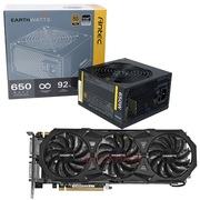 安钛克 额定650W EAG650 金牌电源+技嘉(GIGABYTE)GV-N980WF3OC-4GD GTX980 显卡