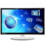 方正科技 FD270P 27英寸镜面钢化玻璃超薄宽屏液晶显示器(白色)