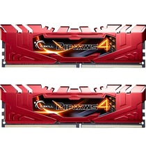 芝奇  Ripjaws 4 DDR4 2666 4G×2 台式机内存 (F4-2666C15D-8GRR) 红色产品图片主图