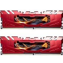 芝奇  Ripjaws 4 DDR4 2666 8G×2 台式机内存 (F4-2666C15D-16GRR) 红色产品图片主图