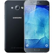 三星 Galaxy A8(A8000)16G版 精灵黑 移动联通电信4G手机 双卡双待