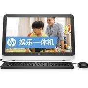惠普 22-1010cn 21.5英寸一体电脑 (J1800 4GB 500GB NV 810A 1G独显 DVD刻录 wifi 键鼠 win8.1)黑色