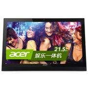 宏碁 AZ1620-N81 21.5英寸一体电脑(i3-4005U 4G 500G USB3.0 键鼠 Win8.1)黑色