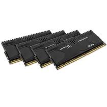 金士顿 骇客神条 Predator系列 DDR4 2666 32G(8GBx4)台式机内存(HX426C13PBK4/32)产品图片主图