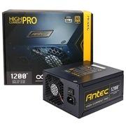 安钛克 额定1200W HCP-1200 电源(80PLUS金牌认证/双层PCB板/DC-DC转换)