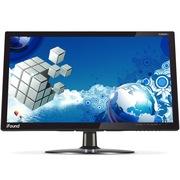 方正科技 FD400P+ 24英寸 监控用镜面钢化超薄宽屏液晶显示器  (黑色)