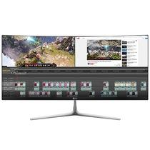 LG 29UC97C 29英寸21:9曲面超宽屏IPS 护眼不闪LED背光液晶显示器产品图片主图