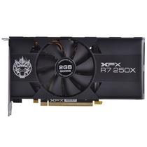 XFX讯景 R7 250X 2G 黑狼 六屏版 950/5000MHz 128bit DDR5 显卡产品图片主图