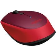 罗技 蓝牙鼠标M336 红色