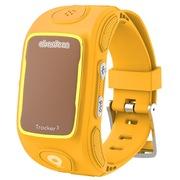 阿巴町 三代KT01W 儿童智能通话 GPS定位 防水防丢多功能手表  黄色