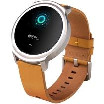 Ticwatch 智能手表 语音手势触摸全交互ticwear系统 蓝牙手表 防水记步测心率 皮质皮带 雅士棕产品图片主图