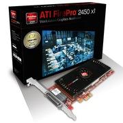 蓝宝石 ATI FirePro 2450 PCI-E X1 服务器多屏专业显卡(VHDCI to 4x VGA/SL-DVI)