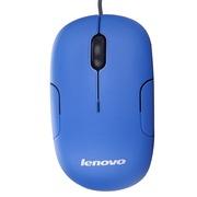 联想 M1801 蓝色 光学鼠标 USB接口 罗技代工