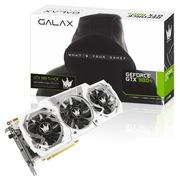 影驰 GTX980Ti名人堂 1190MHz(Boost:1291)/7000MHz 6G/384B D5 PCI-E显卡