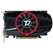 迪兰 HD7770 超能 1G DS 950/4500MHz 1GB/128bit GDDR5 显卡