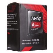 AMD APU系列 A10-7850K盒装CPU(Socket FM2+/3.7GHz/4MB缓存/R7/95W