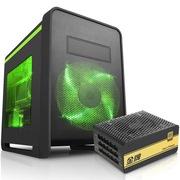 先马 碳立方双侧透游戏机箱+金牌750W 额定功率750W(全电压金牌)