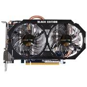 技嘉  GV-N75TWF2BK-2GI GTX750Ti 1163-1242MHz/5400MHz 2GB/128bit GDDR5 显卡