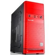 鑫谷 福耀机箱 中国红(原生U3\SSD位\镭射纹雕\支持ATX大板、ATX标准电源、长显卡)