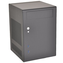 联力 PC-Q7黑色 ITX 全铝 机箱产品图片主图