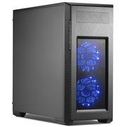 追风者 PK-515PC-BK 电脑机箱/2x360水冷/背线/模组硬盘/光驱 /267mm主板/配风扇/无侧透主机箱