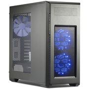 追风者 PK-515P-TG 电脑机箱/2x360水冷/背线/模组硬盘/光驱 /267mm主板/配风扇钛金色主机箱