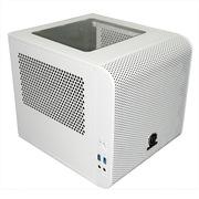 Thermaltake Core V1 ITX白色迷你机箱(20cm风扇散热 /双U3/支持水冷/模块设计/超长显卡/标准电源)