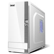 大水牛 风雅白色(全能小箱/支持320MM长显卡/M-ATX主板/标准电源/带光驱位)