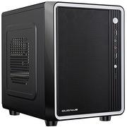 大水牛 风情黑色 机箱(DTX双仓位/超小体积/兼容M-ATX主板/兼容265MM显卡/独立风道)