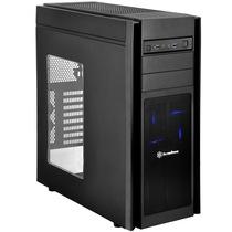 银欣 KL05B-W 忽必烈5 黑色侧透版机箱(多硬盘空间/直进风/带12公分LED风扇/支持水冷)产品图片主图