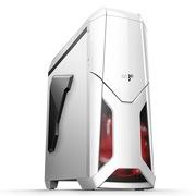 爱国者 X战警机箱白色(标配LED静音风扇12CM*2/USB3.0*2/风扇调速器*2/读卡器/侧透)