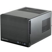 银欣 SG13B-Q 珍宝13 黑色静音版ITX机箱(支持长显卡、ATX电源/支持水冷)