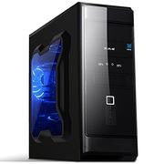 大水牛 A1008 侧透版 黑色 机箱(USB3.0/6个硬盘位/ATX主板/SSD硬盘位)