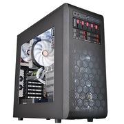 Thermaltake Core V31机箱 (支持360mm冷排/标配双12cm风扇 全模组磁架/侧透双U3)