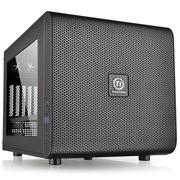 Thermaltake Core V21 M-ATX机箱 (20cm风扇超强散热 双U3-支持水冷-模块设计-超长显卡-标准电源)