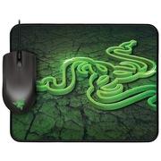 雷蛇 地狱狂蛇1800与重装甲虫控制版 鼠垫套装
